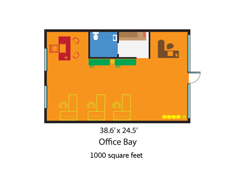 Centre at cutler bay office retail rental price for 1000 sq ft office floor plan